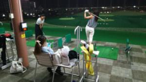 ゴルフ部や、