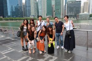 2017年の社員旅行はシンガポールでした。