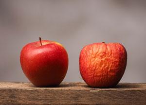 リンゴ たるみ