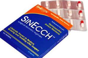 二重切開法の腫れ・内出血を減らす薬シンエック