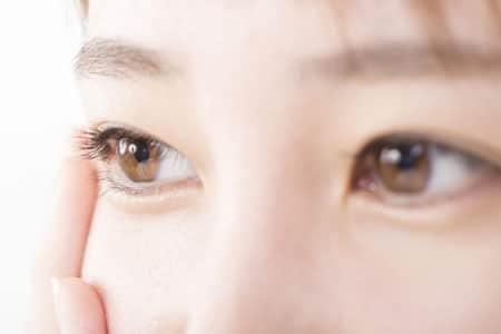 部分切開+眼瞼下垂