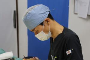 手術中のイメージ