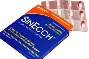 腫れ・内出血を減らすお薬シンエック