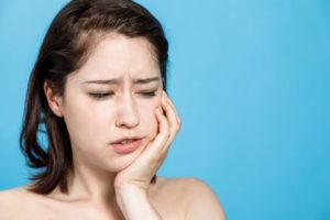 顎関節症のイメージ