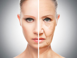 目元の老化イメージ