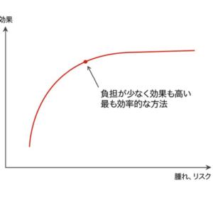 フェイスリフト リスク・効果のグラフ