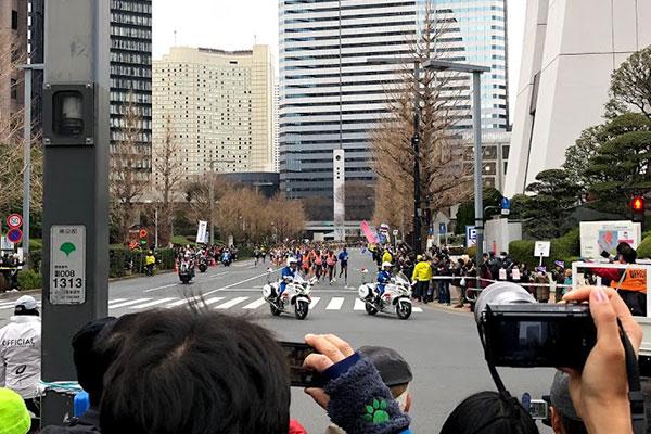 東京マラソン2018web