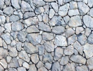 ヒアルロン酸バイクロス構造の石垣のイメージ