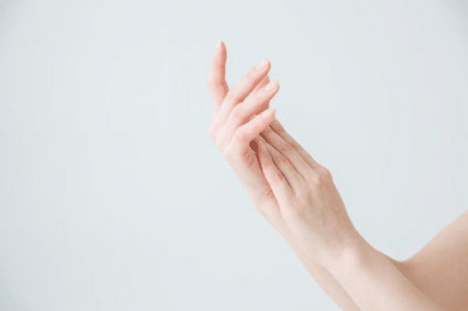 多汗症でない手