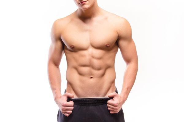 筋肉質の体